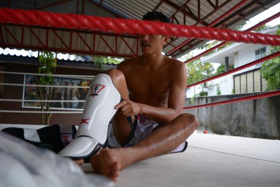 защита для ног spirit of a warrior, защита для ног из таиланда (1)