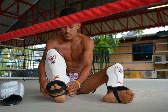 защита для ног spirit of a warrior, защита для ног из таиланда (2)