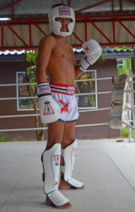 защита для ног spirit of a warrior, защита для ног из таиланда (3)