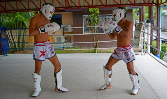 защита для ног spirit of a warrior, защита для ног из таиланда (6)