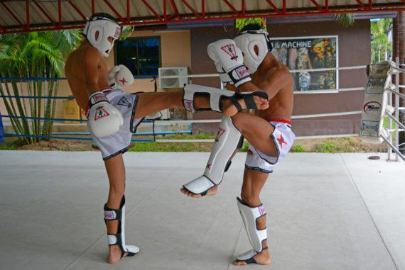 защита для ног spirit of a warrior, защита для ног из таиланда (7)