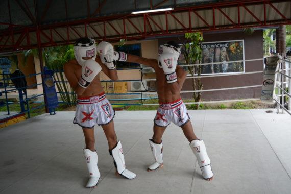 защита для ног spirit of a warrior, защита для ног из таиланда (8)