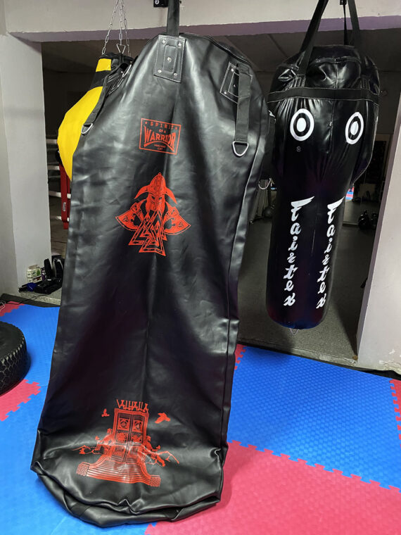 черный тяжелый напольный мешок, муай тай,бокс,spirrit of a warrior,fairtex hb7 pole bag,muay thai (2)