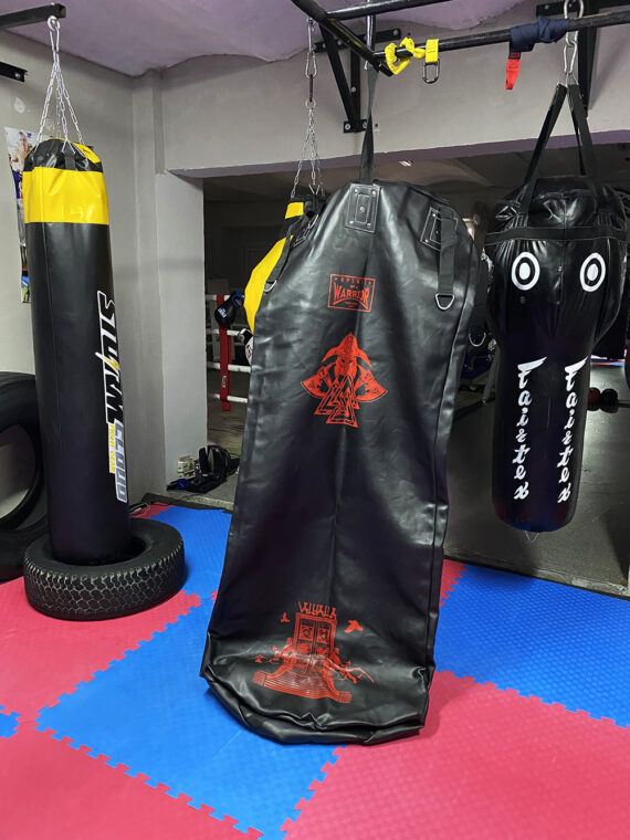 черный тяжелый напольный мешок, муай тай,бокс,spirrit of a warrior,fairtex hb7 pole bag,muay thai (3)