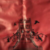 красный тяжелый напольный мешок, муай тай,бокс,spirrit of a warrior,fairtex hb7 pole bag,muay thai 2