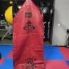 красный тяжелый напольный мешок, муай тай,бокс,spirrit of a warrior,fairtex hb7 pole bag,muay thai 9