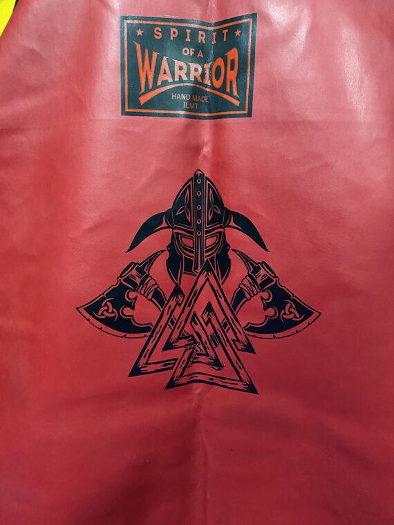 красный тяжелый напольный мешок, муай тай,бокс,spirrit of a warrior,fairtex hb7 pole bag,muay thai 11